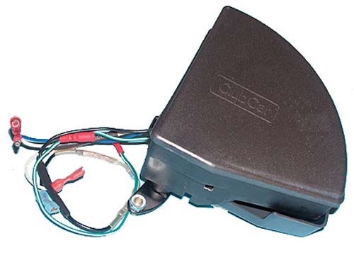 v-glide assembly (w/ 48-volt controller) for club car 1995