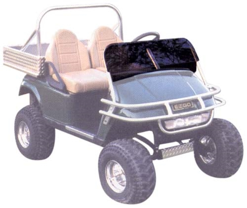 Discount Cart Parts :: JAKES SPORT WINDSHIELD YAMAHA ACCESSORIES G16-G22