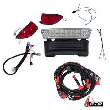 electric club car precedent gtw led light kit (fits 2008 5-up)